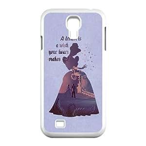 YUAHS(TM) Phone Case for SamSung Galaxy S4 I9500 with Cinderella YAS408611