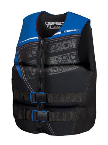 O'Brien Men's Flex V-Back Neo Life Vest, X-Small, Blue