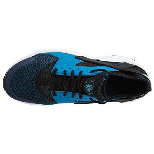 NIKE Herren Huarache Run Ultra Running Sneaker Blaue Lagune / Weiß / Schwarz