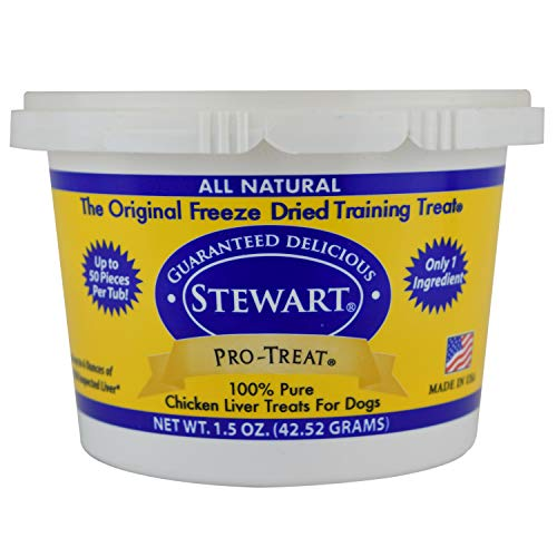 (Stewart'S Pro-Treat 1.5 Ounce Tub Freeze Dried Dog Treats, Chicken Liver)