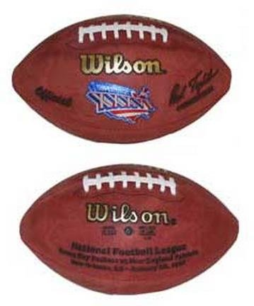 Super Bowl XXXVI Official Game Football by Wilson - New England Patriots vs. St. Louis Rams B00162I0CQ