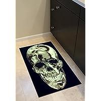 Americana Skull Design Door Mat Rug 2 Ft. X 3 Ft. design #134