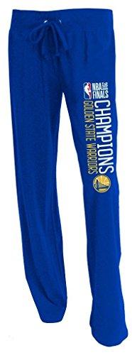 Golden State Warriors 2018 NBA Champions Women's Knit Pajama/Lounge Pants Large 12-14 -