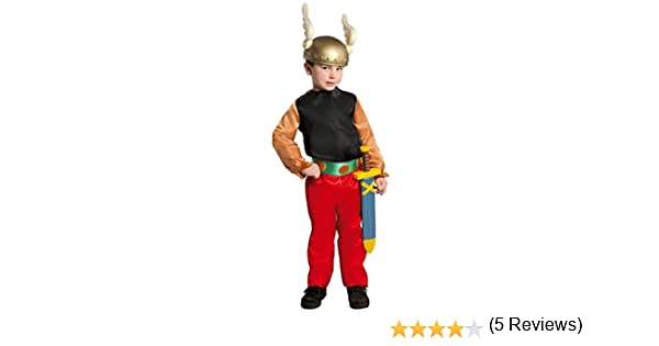 Disfraz de Galo Asterix (Talla 4-6 años): Amazon.es: Juguetes y juegos