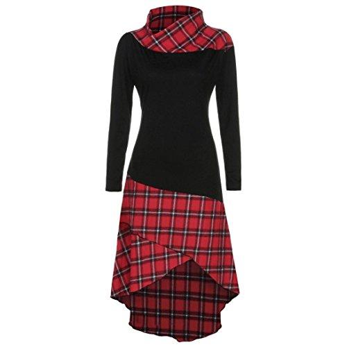 best accessories for scoop neck dress - 1