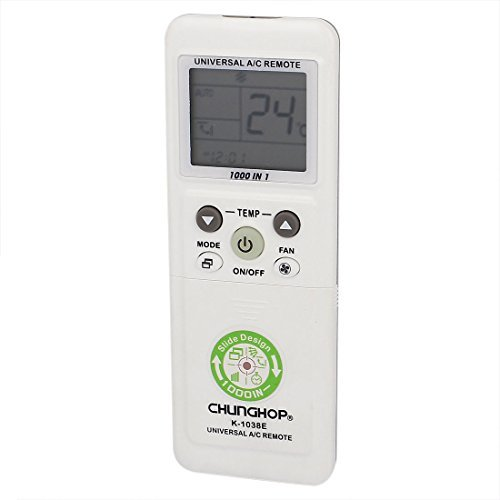 K-1038E 1000 en 1 Universal Air Conditioner A / C Remote Control DealMux DLM-B00WW6RD96