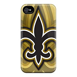 Best Hard Cell-phone Cases For Iphone 6 With Allow Personal Design High-definition New Orleans Saints Series PhilHolmes