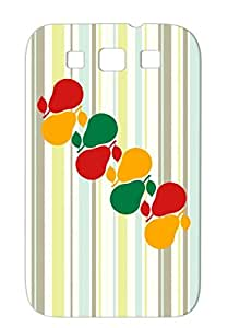 Miscellaneous Cherry Pear Animals Nature Love Fruits Healthy Banana Fruit Food Apple Orange Case For Sumsang Galaxy S3 Pears Pattern Design