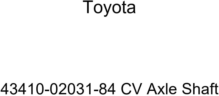 Toyota 43410-03011-84 CV Axle Shaft