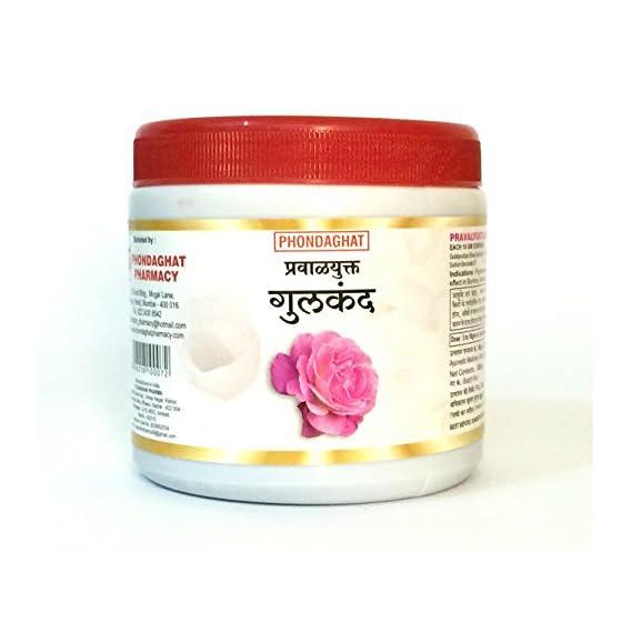 Phondaghat Pharmacy Rose Petals Gulkand (500 gm)