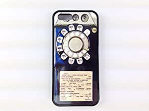 Iphone 5, Iphone 5s Vintage Rotary Payphone Case, Awesome Retro Look. Free Screen Protector!