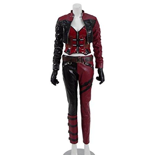 [Women's Costume Cosplay for Joker's Girlfriend Chritmas Suit Mutiple colors] (Jokers Girlfriend Costume)