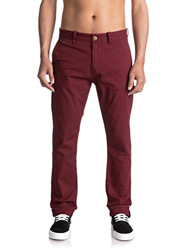 Krandy Slim Homme Chino Pour Eqynp03108 Pantalon Pomegranate Quiksilver zdw1aWqTz