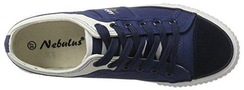 Mujer Blanco Zapatillas Nebulus Azul Maritime XqpCwC