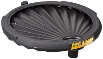 "Justrite 28680 EcoPolyBlend 21"" x 3.25 "" (OD X HT) Polyethylene Non-Flammable Spill Control Funnels"