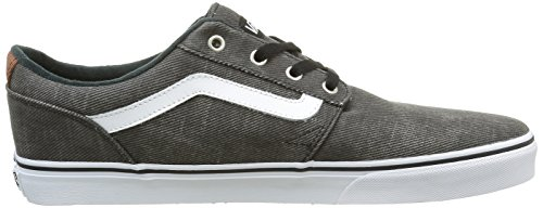 Vans Men's Chapman Stripe Low-Top Sneakers Black (T&l Black/White) tumblr outlet popular 46l5i
