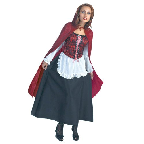 Storybook Characters For Halloween (Little Red Riding Hood Adult Costume)