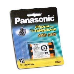 Original Panasonic Ni-MH Rechargeable Cordless Phone Battery (HHR-P107A/1B) (Not Generic) (Panasonic Mobile Phone Batteries)