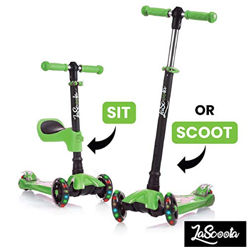 Lascoota Scooters are great toys for preschool-aged boys