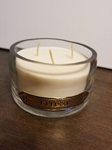Cucumber Mint Candle Scent - Rose and Cucumber Mint Upcycled Dusse Bottle Candle
