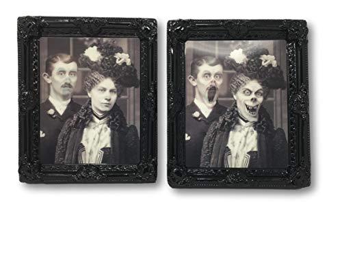 Seasons By Nicole Halloween Haunted Mansion Lenticular 12