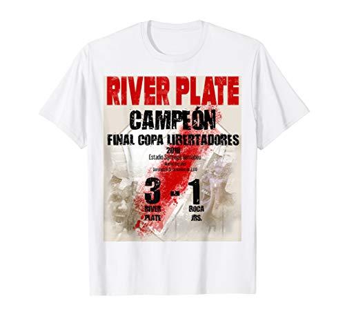 River Plate campeon Final Copa Libertadores camiseta (Conjuntos Del Real Madrid)
