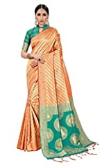 Impress everyone with your amazing traditional look by draping this red colored patola saree. Featuring a beautiful print, it will definitely earn you loads of compliments from onlookers. Made of patola silk fabric, it measures 6.30 m in leng...