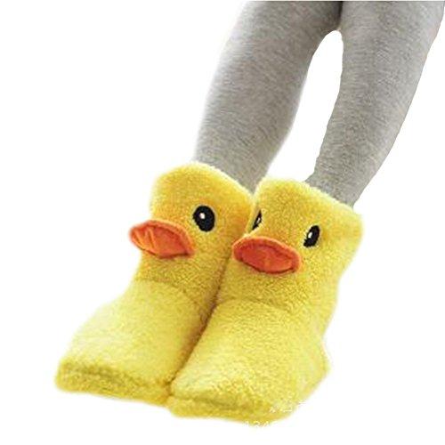 pato dibujos animados invierno goma amarillo mujeres de casuales impresas para 2 Auspicioso de de zapatos cálido zapatillas comienzo botas casuales vYUqnFEXWt