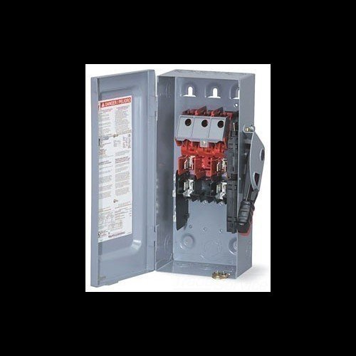 Schneider Electric H322N Heavy Duty Safety Switch Fusible 60 Amp 240VAC/250VDC 3 Pole SQUARE D HM-19959
