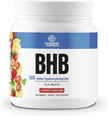 Complete Wellness BHB Beta-Hydroxybutyrate Strawberry Lemonade