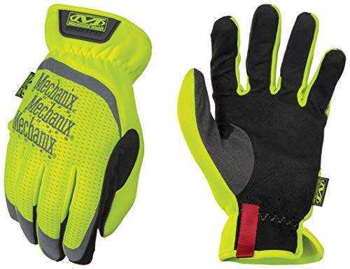 Mechanix Wear - Hi-Viz FastFit Work Gloves (X-Large, Fluorescent Yellow)