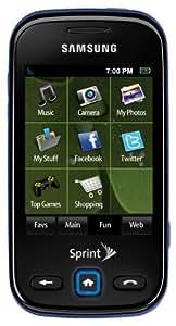 Samsung Trender Phone, Navy (Sprint)