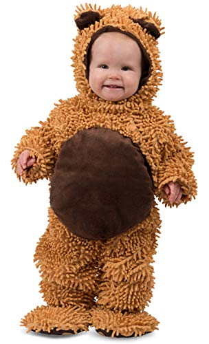 Princess Paradise Baby's Chenille Teddy Bear, Brown, 18