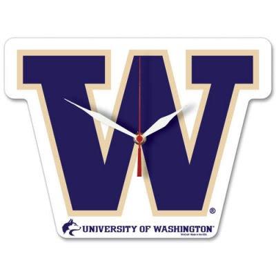 Wincraft NCAA University of Washington High Definition Plaque Clock