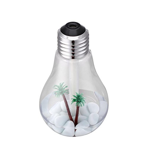 Aribelly Air Diffuser Purifier Lamp Humidifier Home Aroma LED Humidifier Atomizer