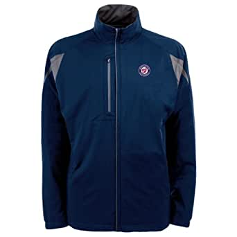MLB Men's Washington Nationals Highland Jacket (Navy/Gunmetal, X-Large)