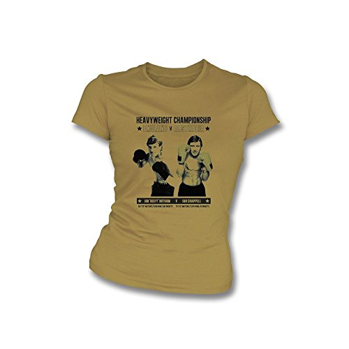 TshirtGrill Organisches nur wirkliches Herrenbekleidungs-Schnurrbart-T-Shirt, Farbe- Himmel-Blau
