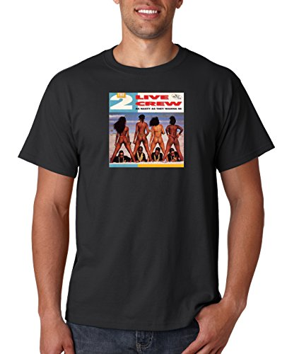 2 Live Crew As Nasty As They Wanna Be T Shirt Hip Hop Tee Rappers T-Shirt ()