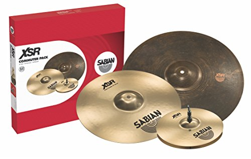 Sabian Cymbal Variety Package XSR Commuter Pack Set, includes: 13