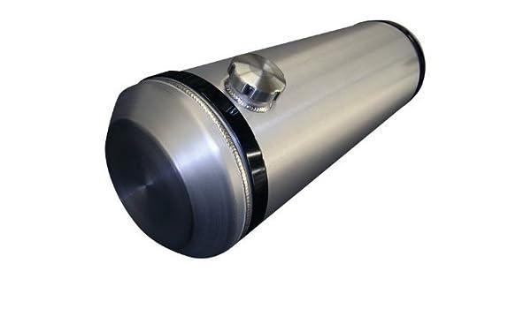 10x20 END FILL SPUN ALUMINUM GAS TANK WITH SITE GAUGE 6.75 GALLLON 3//8 NPT