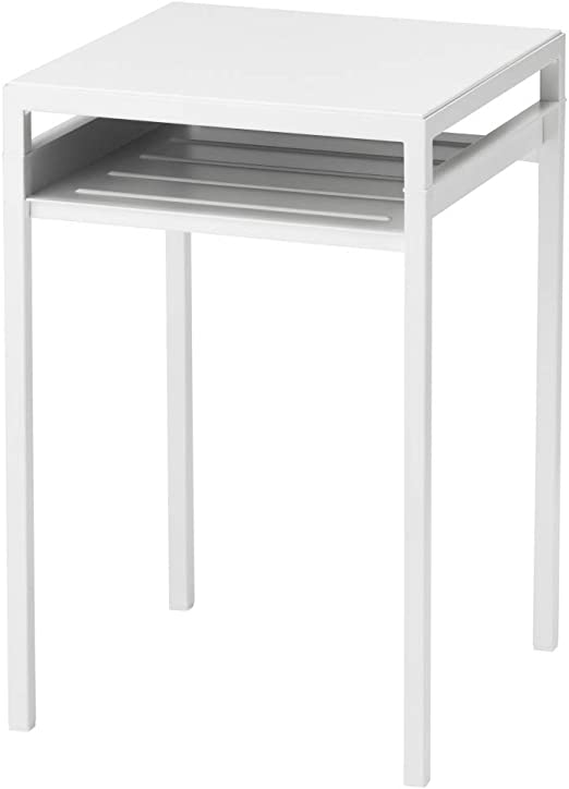 IKEA ASIA NYBODA Mesa auxiliar con parte superior de mesa ...