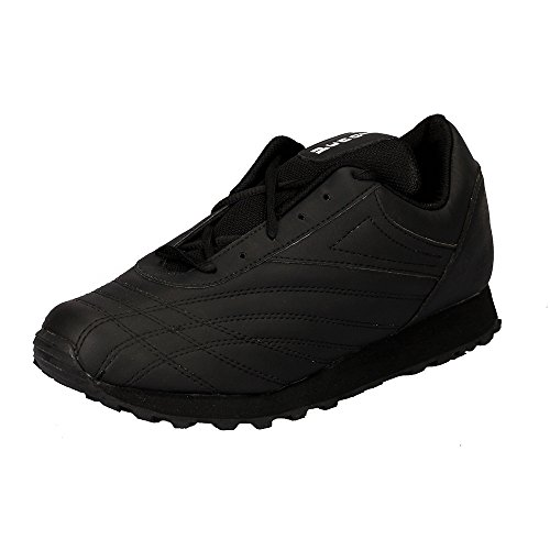 lakhani touch black sports shoes