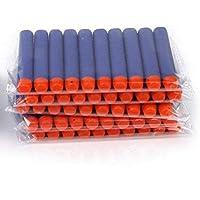 JERN Toy Bullet Foam Dart Bullets for Nerf N-Strike Elite Guns (Pack of 50)