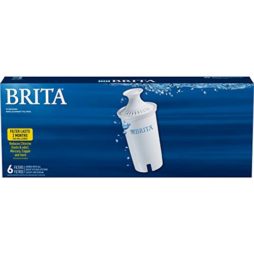 Brita 35557 Water Pitcher Replacement Filters, White-6 pk, 6ct 6ct by Brita (Image #5)