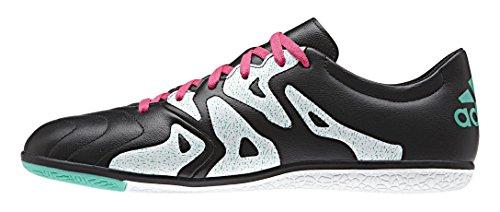 adidas X 15.3 In Leather, Botas de Fútbol para Hombre Varios colores (Negro / Rosa / Blanco (Negbas / Rosimp / Menimp))