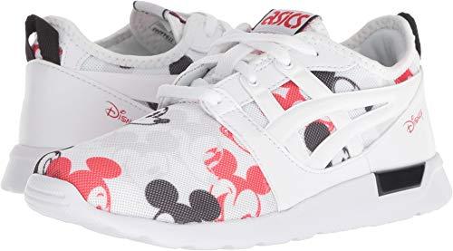 ASICS Kids Unisex Tiger Gel-Lyte Hikari Mickey Mouse (Toddler/Little Kid) White 13 M US Little -