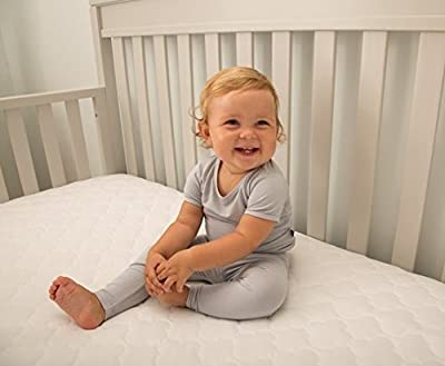 "Sealy Soybean Serenity Foam-Core Infant/Toddler Crib Mattress - Hypoallergenic Soy Foam, Extra Firm, Plastic-Free Cover with Organic Fibers, Waterproof, Allergy Barrier, 52""x28"""