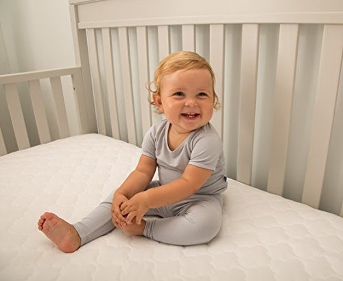 "Sealy Baby Firm Rest Infant/Toddler Crib Mattress-Luxury Design Pattern May Vary - 204 Premium Coils, Anti-Sag System, Waterproof Cover, Hypoallergenic Cushioning, High Coil Firmness, 51.7""x 27.3 by Sealy (Image #9)"