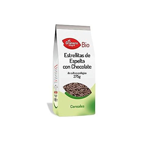 El Granero Integral Estrellitas Espelta Chocolate Bio 375 g ...