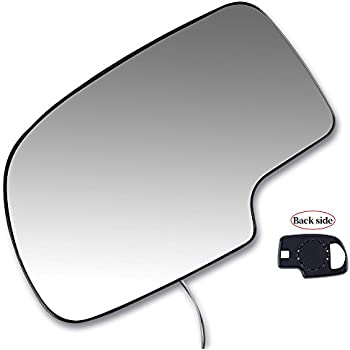 Scitoo Driver Left Door Mirror Fit 2003 2007 Chevy Silverado